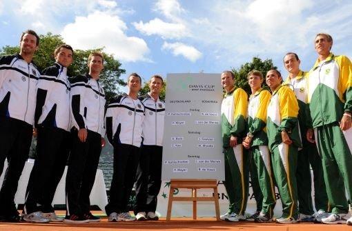 Deutsches Team gegen vier Namenlose