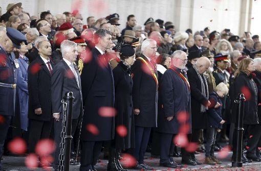 Europa ehrt am Jahrestag die Toten