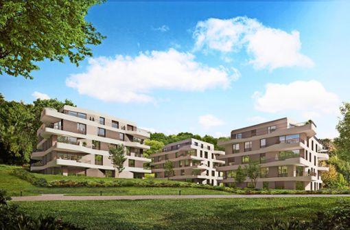 48 Wohnungen entstehen am Park der Villa Berg