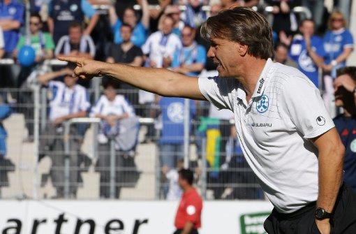 Kickers und VfB II spielen Remis