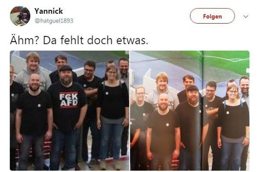 Irritationen um Foto im VfB-Mitgliedermagazin