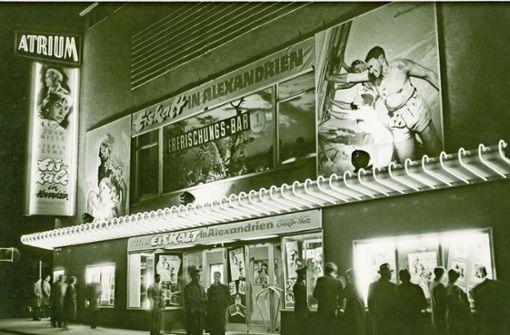 Das Atrium-Kino an der Lange Straße in den 1950er Jahren, Foto: Privatarchiv Colm