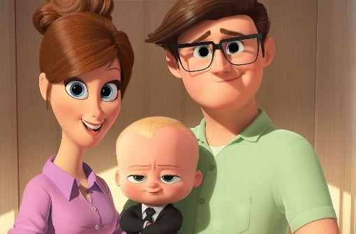 """Das """"Boss Baby"""" mit seinen Eltern Foto: Verleih"""