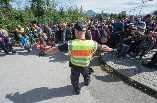 Jetzt ist die Krise in Slowenien und   Kroatien