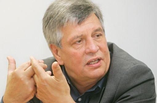 SPD-Bundestagsabgeordneter und Träger des Alternativen Nobelpreises Hermann Scheer Foto: Kraufmann