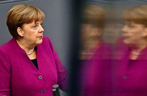 Merkels neue Mannschaft