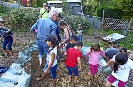 Nachbarschaftsgarten für  Deutschen Kita-Preis nominiert