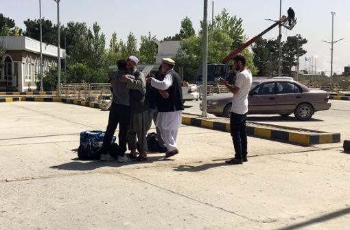 Abgeschobene Asylbewerber aus Deutschland in Kabul eingetroffen