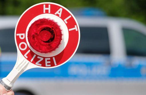 Polizei stoppt Lastwagenfahrer mit 2,5 Promille