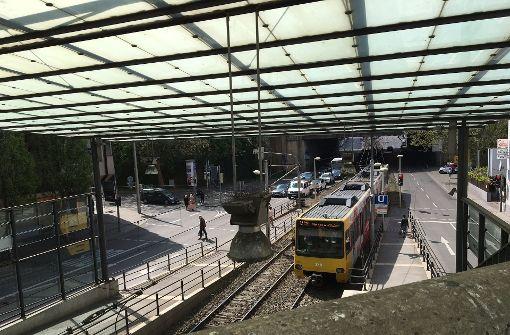 Der Umbau der Haltestelle hätte am 22. Mai beginnen sollen. Foto: Annina Baur (Archiv)
