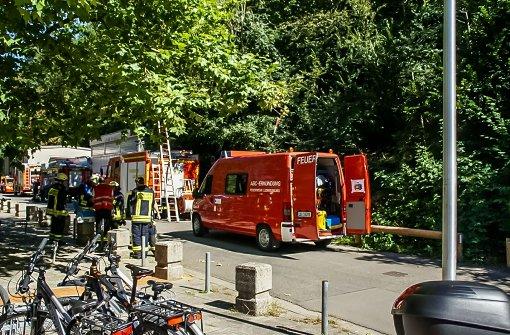 Chlorgasalarm im Freibad Hoheneck