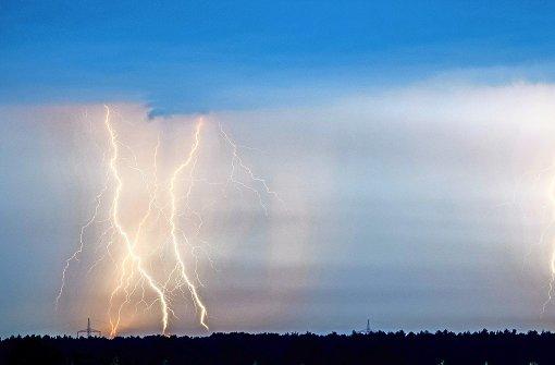 Was passiert bei einem Blitzschlag?