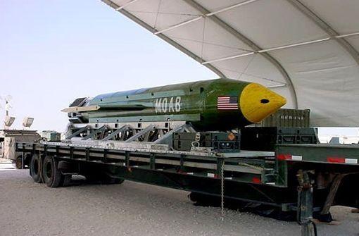 USA werfen stärkste nicht-atomare Bombe in Afghanistan ab
