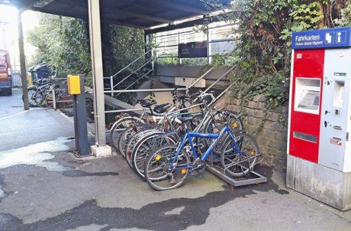 Bahnhof  im ADAC-Fahrradtest mangelhaft