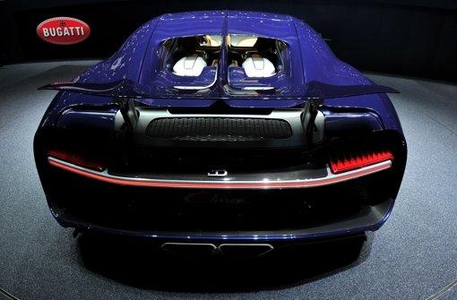 Der Bugatti Chiron hat sage und schreibe  1500 PS und ...  Foto: Getty Images Europe