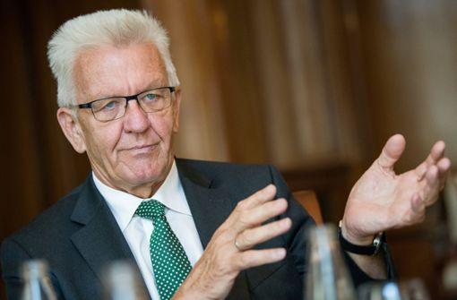 Kretschmann ist laut Umfrage beliebtester Ministerpräsident