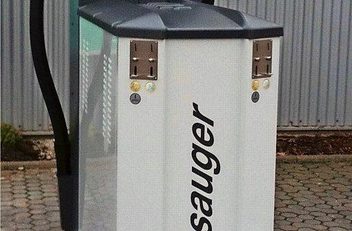 Das ist kein Geldautomat – sondern ein Münzstaubsauger Foto: z