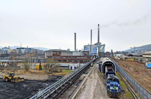 Die letzte Kohle fürs Kraftwerk  Gaisburg