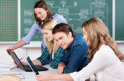Digitale Klassenzimmer stellen die Lehrer vor neue Herausforderungen. Hier könnte ein neues Fortbildungskonzept helfen. Foto: Fotolia