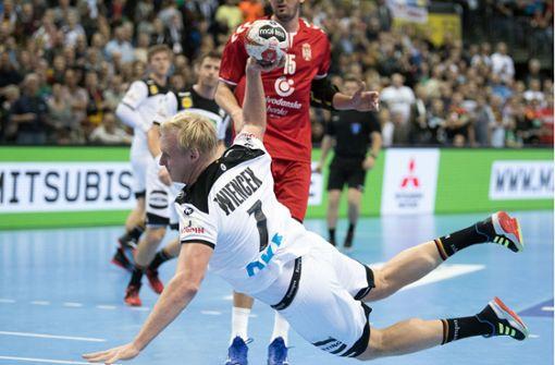 DHB-Auswahl siegt gegen Serbien