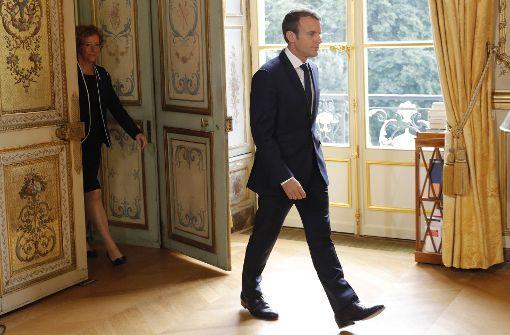 So will Macron die Arbeitslosigkeit in den Griff bekommen