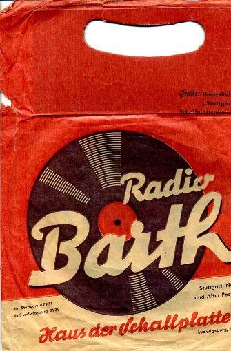 Barth-Tüte aus den 1950ern. Foto: Charles C. Urban
