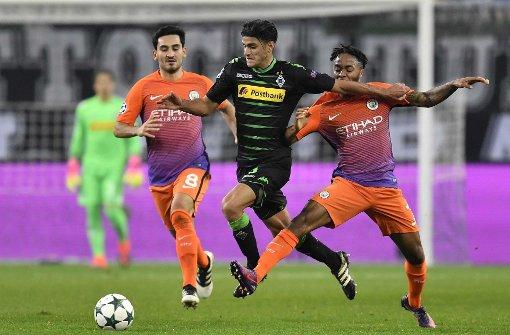 Borussia Mönchengladbach verpasst mit 1:1 gegen Manchester City Achtelfinale