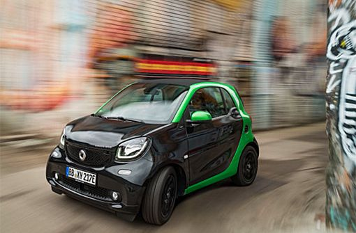 Der neue smart fortwo electric drive.