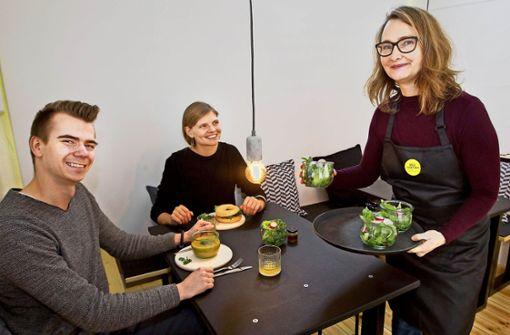 Neuer Imbiss für Veganer und Vegetarier