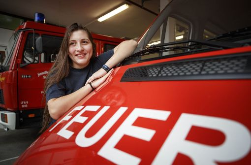 Feuerwehrauto  ist unterwegs nach Paraguay