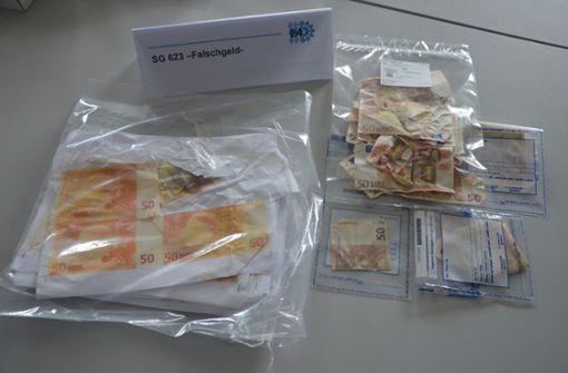 Polizei überführt mutmaßliche Geldfälscher