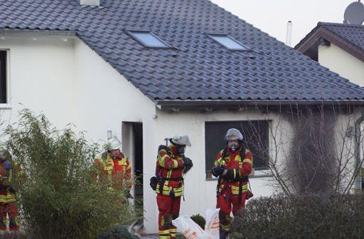 Feuerwehr-Großeinsatz nach Brand im Wohnhaus
