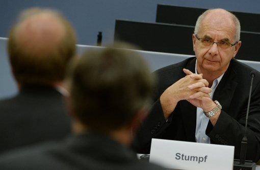 Rätsel um Ex-Polizeipräsident Stumpf