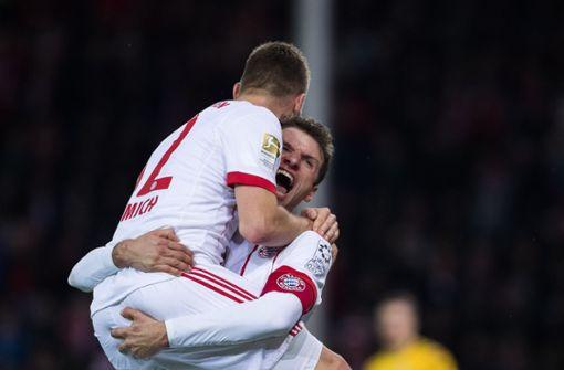 Der FC Bayern gewinnt locker beim SC Freiburg