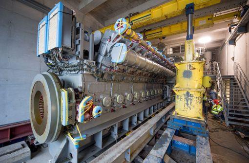 110 Tonnen schwere Motoren mit 20 Zylindern