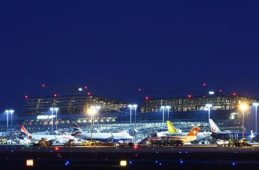 Zeitweise Chaos am Flughafen Stuttgart