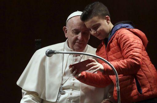 Der fehlbare Papst