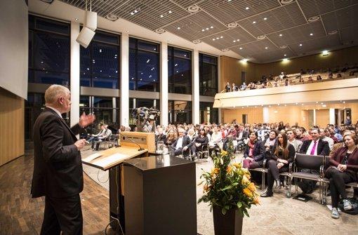 Jugendgemeinderat in Stuttgart: Mehr Rechte soll es geben Foto: Piechowski