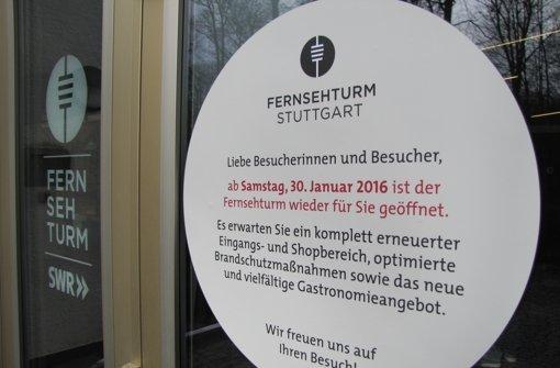 Am 30. Januar ist die große Wiedereröffnung.  Foto: Sägesser