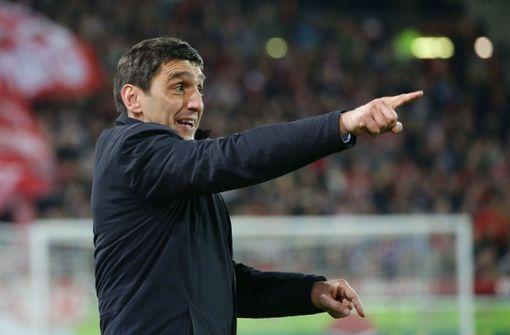 Das sagt VfB-Trainer Tayfun Korkut zur DFB-Kritik