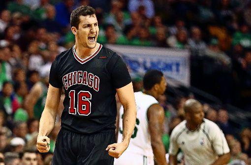 Starker Typ: Paul Zipser von den Chicago Bulls ist endgültig in der NBA angekommen. Foto: Getty