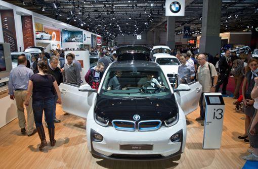 Die Stars der Autoshow fahren emissionsfrei