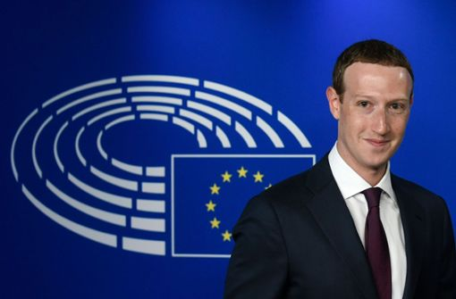 Facebook-Chef entschuldigt sich im Europaparlament