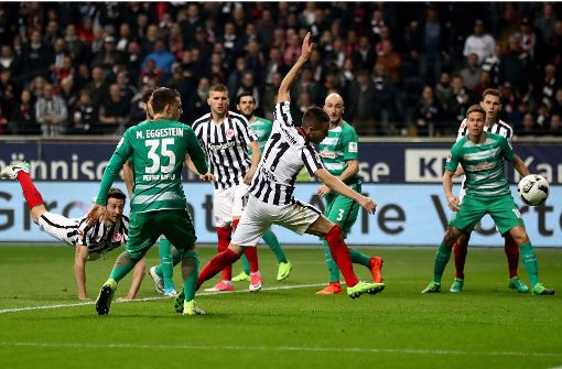 Frankfurt stoppt Werder-Siegesserie