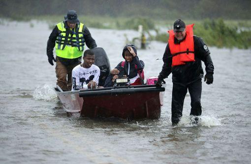 Es laufen viele Notfalleinsätze in der betroffenen Küstenregion. Foto: Getty