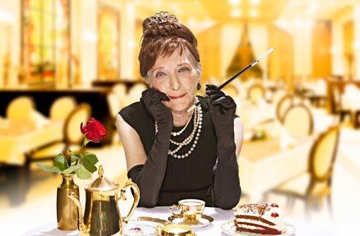 Frühstück bei Tiffany: Marianne Brunsbach (86) Foto: Contilia Gruppe/Essen Werntges S