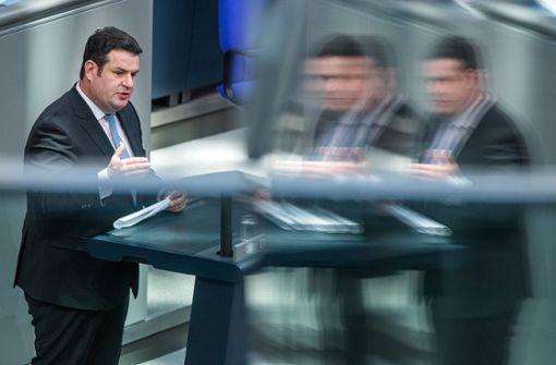 Arbeitsminister Hubertus Heil hat mit seinem Vorstoß zum Mindestlohn viel Wirbel ausgelöst. Foto: dpa