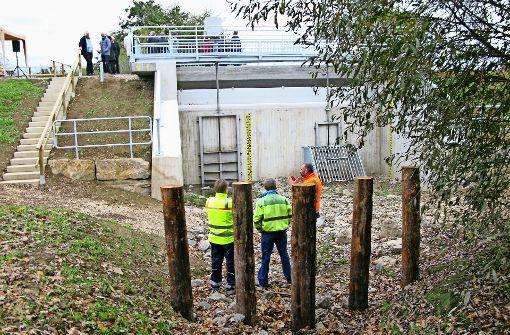 Zweckverband weiht Hochwasserschutz ein