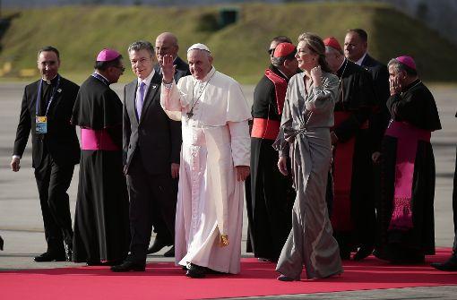Präsident will Papst auf seine Seite ziehen