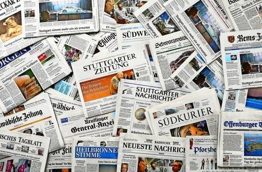 Zeitungsredakteure legen Arbeit nieder